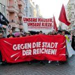 """Pressemitteilung zur Demonstration """"Unsere Häuser, unsere Kieze. Gegen die Stadt der Reichen!"""" in Berlin-Wedding"""